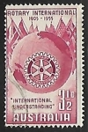 Sellos de Oceania - Australia -  Rotary International