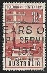 Sellos de Oceania - Australia -  Centennial Telegraph