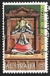 Stamps Australia -  Palacio de Justicia