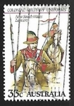 Stamps Australia -  New South Wales Lancers