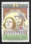 Sellos de Oceania - Australia -  GLADIS MONCRIEFF & ROY RENE