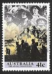 Sellos de Oceania - Australia -  Soldados