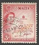 Stamps : Europe : Malta :  King