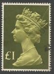 Sellos del Mundo : Europa : Reino_Unido : Queen Elizabeth II - Large Machin