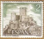 Stamps Spain -  Castillos de España - Sta. Catalina en Jaen