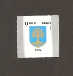 Stamps : Europe : Estonia :  Escudo de Elva