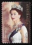 Stamps Australia -  Coronation 1953