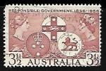 Sellos del Mundo : Oceania : Australia : Responsible Government - 1856 - 1956