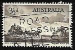 Sellos de Oceania - Australia -      Pioneers of Australia's coaching era