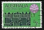 Stamps Australia -  Navidad 1971