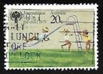 Sellos de Oceania - Australia -  Dia internacional del niño