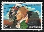 Sellos de Oceania - Australia -  Australia Day 1982