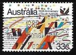 Stamps Australia -  150th  Anniversary of South Australia