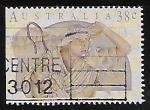 Stamps Australia -  Navidad 1991