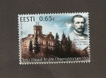 Stamps : Europe : Estonia :  Observatorio de la Universidad de Tartu