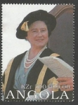 Stamps : Africa : Angola :  The 100th Anniversary of the Birth of Queen Elizabeth, the Queen Mother, 1900-2002