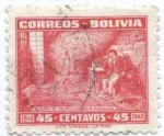 Stamps of the world : Bolivia :  Conmemoracion130 aniversario de la muerte de Pedro domingo Murillo