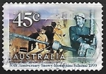 Stamps Australia -  50 th anniversary Snowy Mountains Scheme - 1999