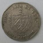 monedas de America - Cuba -  Luis Alberto
