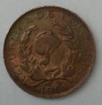monedas de America - Colombia -  1968 - 1 centavo