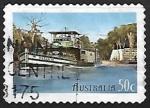 Stamps : Oceania : Australia :  Oscar W