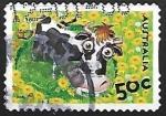 Sellos de Oceania - Australia -  Abigail Cow
