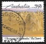 Stamps Australia -  Panorama of Australia