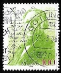 Stamps Germany -  175th Birth Anniv. of Theodore Fontane