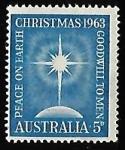 Stamps Australia -  Navidad 1963