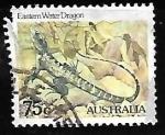Sellos de Oceania - Australia -  Australian Water Dragon