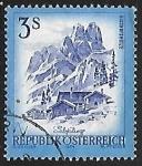 Stamps Austria -  Bischofsmütze