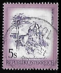 Stamps Austria -  Ruins of Aggstein Castle