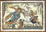 Sellos de Europa - España -  NAVIDAD - Adoracion de los Pastores - Leon
