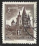 Sellos de Europa - Austria -  Basilica of Mariazell