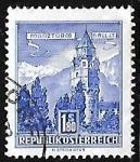 Stamps Austria -  Mint Tower, Hall (Tyrol)