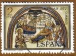 Sellos de Europa - España -  NAVIDAD - La Natividad - Leon