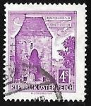 Stamps Austria -  Vienna-Gate, Hainburg a.d. Danube