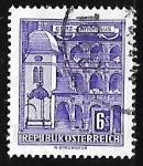 Stamps Austria -  State parliament house, Graz