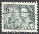 Sellos del Mundo : America : Canadá : Queen Elizabeth II and Library of Parliament