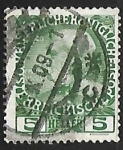 Stamps Austria -  Emperor Franz Joseph (1848-1916)