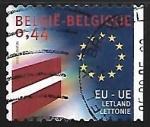 Sellos del Mundo : Europa : Bélgica : Union Europea - Letonia