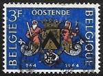 Sellos de Europa - Bélgica -  1000 year City of Oostende