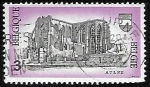 Stamps Belgium -  Abbey of Aulne - Abadía de Aulne