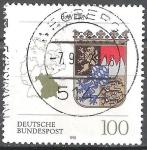 Sellos de Europa - Alemania -  Escudo de armas de los estados federales(Baviera).