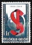 Sellos de Europa - Bélgica -  Internacional socialista