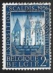 Stamps Belgium -  Scaldis exposición. Catedrales de Tournai - Catedral de Nuestra Señora de Tournai