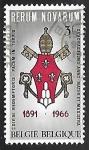 Sellos de Europa - Bélgica -  Rerum Novarum