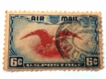Stamps : America : United_States :  Aguila