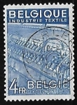 Stamps Belgium -  Industrie Textil