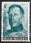 sello : Europa : Bélgica : King Albert I - Alberto I de Bélgica